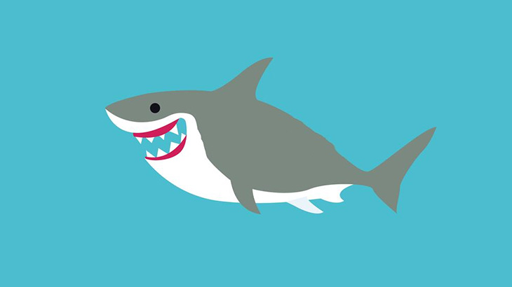 【動画】海中でサメを観察してたダイバーたち、めっちゃウンコぶちまけられてしまう