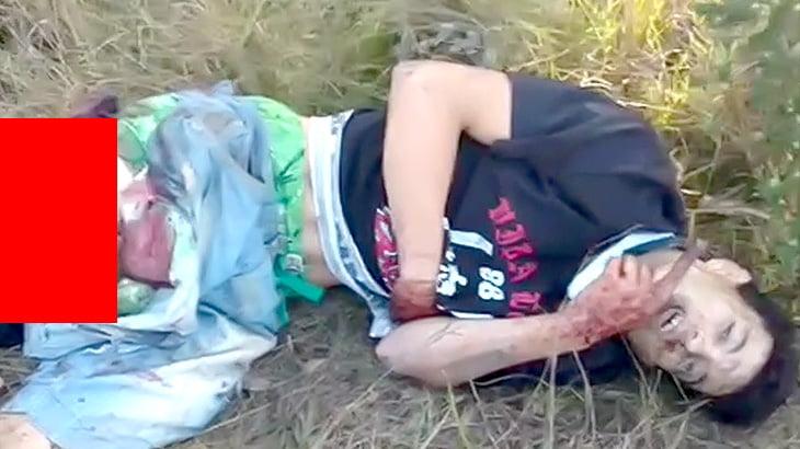 【閲覧注意】走行中の電車を蹴った男、右脚ちぎれてしまう・・・(動画)