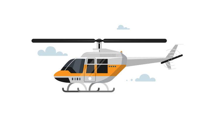 着陸しようとしていたヘリ、なぜか突然壊れて墜落してしまう(動画)