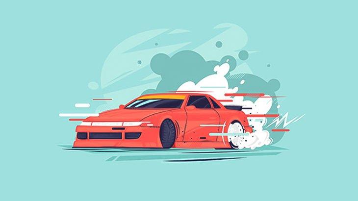 ギャングさん、逃げる男を車で追いかけて轢いてしまう・・・(動画)