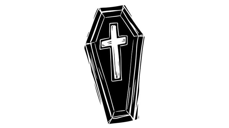 【微閲覧注意】なぜか墓から棺桶を取り出し死体をゴミ袋に入れる映像
