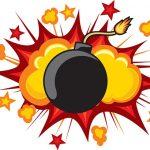 目の前で男が爆発 → 切断された頭が飛んでくる・・・(動画)