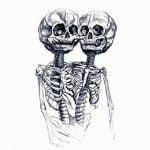 【閲覧注意】2つの顔がくっついてしまった新生児の死体(動画)