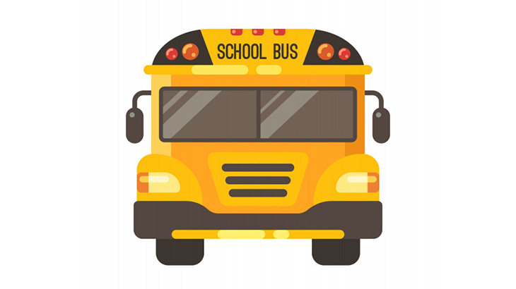 送迎バスから降りた女の子がドライバーにバイバイと手を振る → 送迎バスに轢かれる(動画)