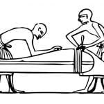 【閲覧注意】女性の死体を長期保存するために体液を吸い取る男(動画)