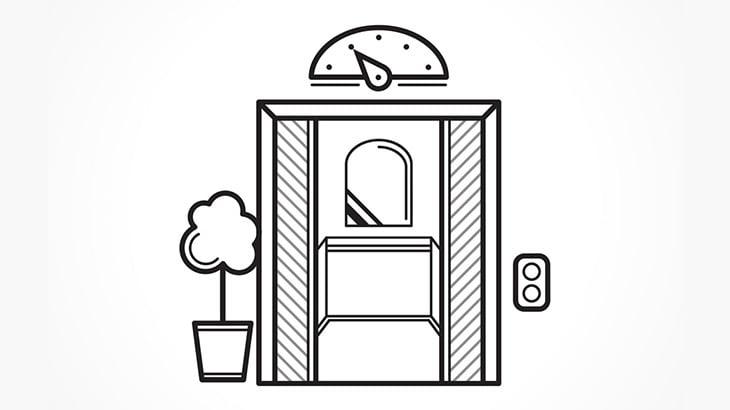 【閲覧注意】エレベーターに乗っていた男の子、ゆっくりと押しつぶされて死んでしまう・・・(動画)