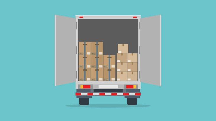 トラックの荷台の扉を開けておく → 泥棒が入ったら閉じ込めて懲らしめる(動画)