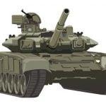 砲撃を受けた戦車、なぜかジェットエンジンのように火柱があがってしまう(動画)