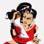 イカれた中国人女さん、刃物で見ず知らずの人を斬りつけてしまう(動画)
