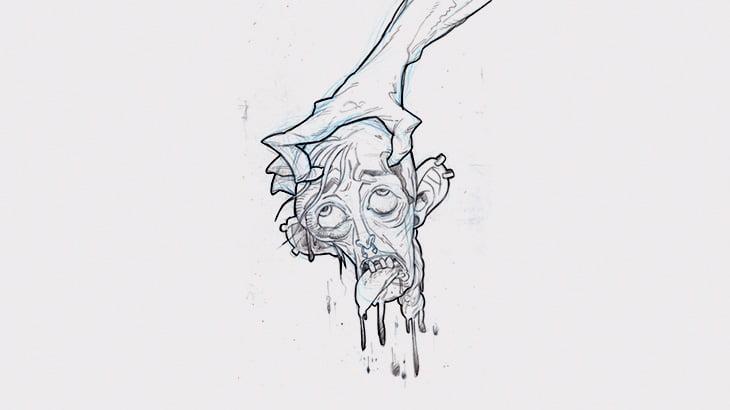 【閲覧注意】マチェーテで首を叩き切られる男の身体がビクビクと・・・(動画)