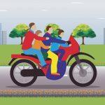 【閲覧注意】このバイク事故現場、悲惨過ぎる・・・(動画)
