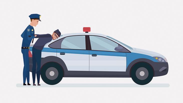 不審な車のドライバーに職質中の警察官、撃ち殺されてしまう(動画)