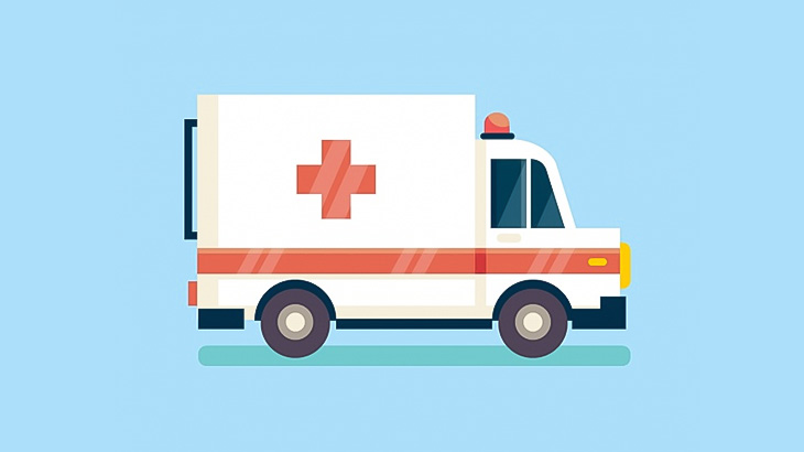 【中国】事故現場に到着した救急車、負傷者の脚を轢いてさらに負傷させてしまう(動画)