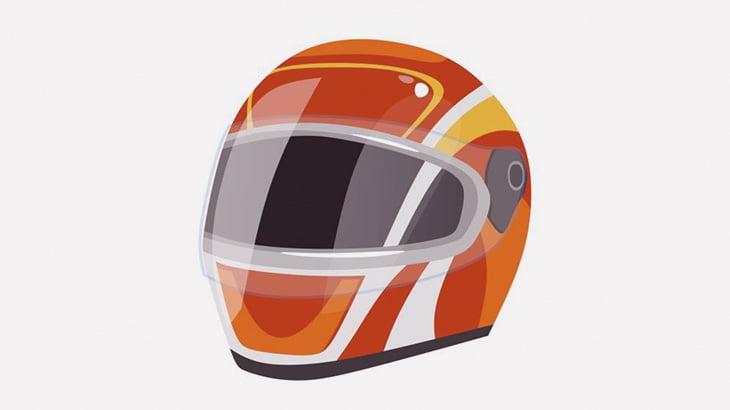 【閲覧注意】事故で死んだバイカーのヘルメットの中身、グッチャグチャ・・・(動画)