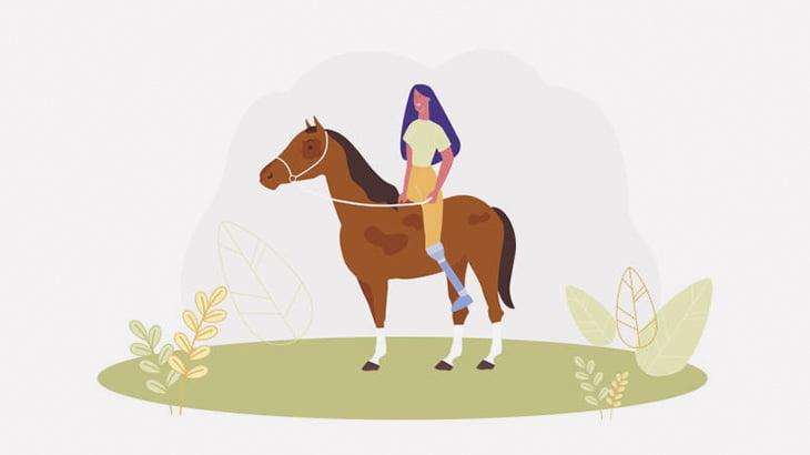 女性を乗せるのが嫌すぎた馬さん、バックドロップを決めてしまう(動画)