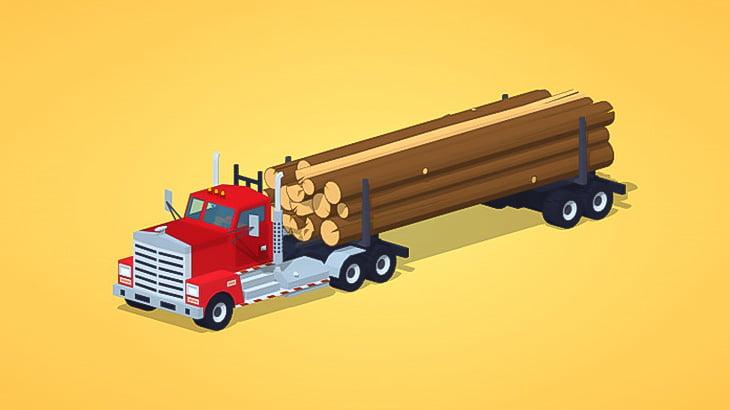 【閲覧注意】トラックから落下した木材に押しつぶされた作業員、内臓飛び出て死亡・・・(画像)