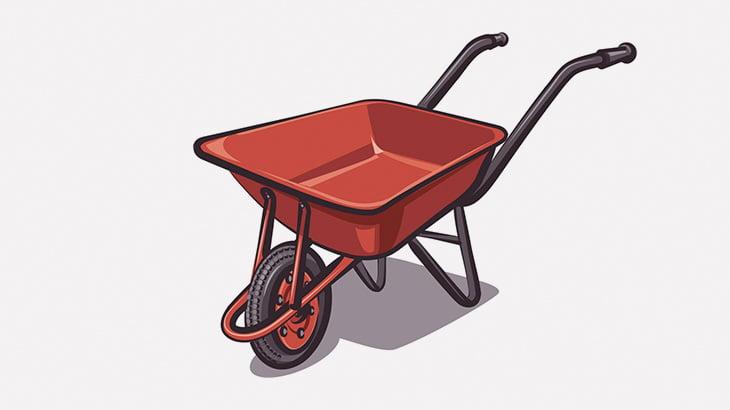 【閲覧注意】ギャングさん、運搬用一輪車にヤバすぎるものを乗せてしまう・・・(動画)