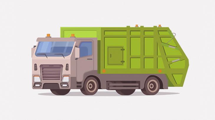 【閲覧注意】ゴミ収集車に轢かれたおじいちゃん、頭が破裂・・・(画像)