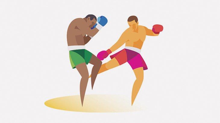 UFCファイターさん、ローキックで脚が折れてしまう(動画)
