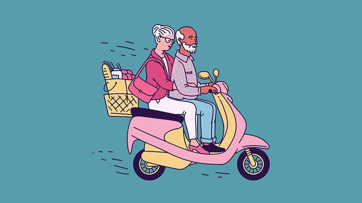 【閲覧注意】バイクに2人乗りしていた夫婦、旦那だけトラックに潰されて死亡・・・(動画)