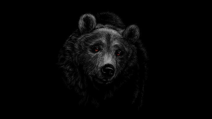 【閲覧注意】クマに食われてしまった男の顔、ヤバすぎる・・・(画像)