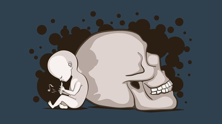 【閲覧注意】生まれてきた赤ちゃん、速攻で殺されてしまう・・・(動画)