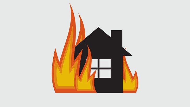 【閲覧注意】火災が起きた部屋の窓に焼死した子供の死体が・・・(動画)