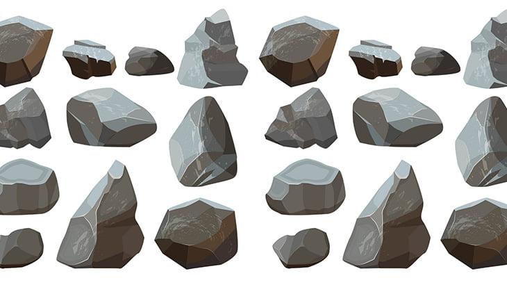 岩の中から大量のコカインが発見される(動画)