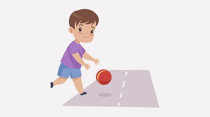 何度も道路にボールを拾いに行く小さな女の子を誰も注意しなかった結果・・・(動画)