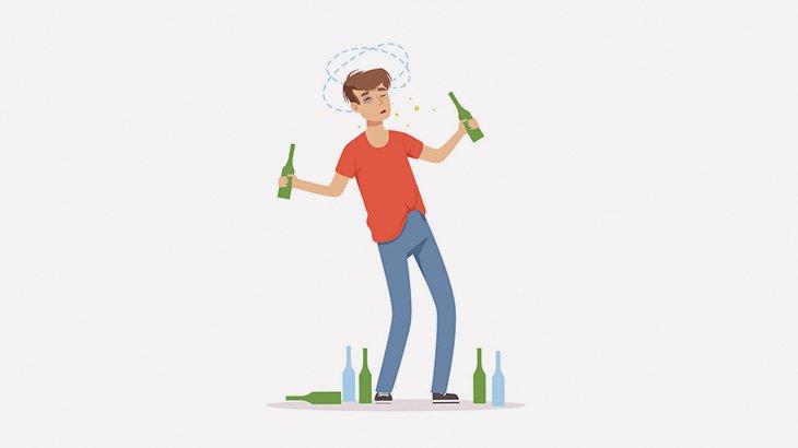 酔っ払った男が道路に出てクルマを止めようとする → 思いっきり轢かれる(動画)