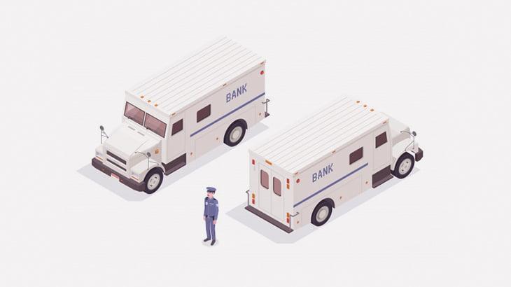 襲われること多そうな職業「現金輸送車のドライバー」(動画)