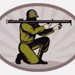 【閲覧注意】中東の兵士「敵兵をバズーカで吹き飛ばすわwwww」(動画)