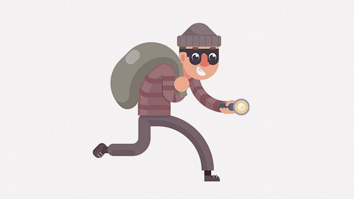 【閲覧注意】最凶の生き物がいる家に盗みに入った男、顔を引き裂かれてしまう・・・(画像)