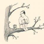 【閲覧注意】道路脇に座る全裸の男、チンチン切断されてた・・・(動画)
