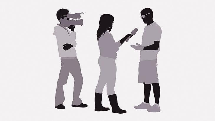 【閲覧注意】アフリカのTV、切断された頭を持つ男にインタビューしてしまう(動画)