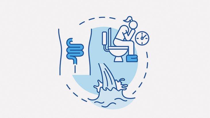 【クソ注意】トイレの壁にウンコをジェット噴射する女(動画)