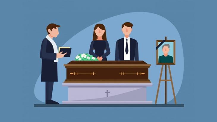 ライバルギャングの葬儀に乱入して死体をビンタする男(動画)