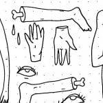 【閲覧注意】検視官「バラバラにされた女性の死体を組み合わせてみた」(画像)