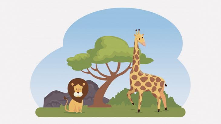 数頭のライオンに襲われて捕食されるキリン(動画)