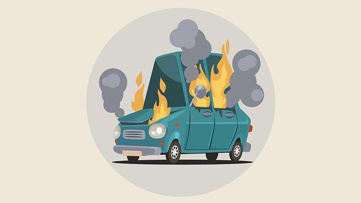 【閲覧注意】2人の誘拐犯、生きたまま燃やされてしまう・・・(動画)