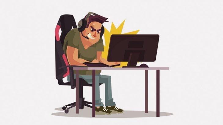 ネットカフェで遊んでたゲーマーさん、対戦相手にブチ切れて殴りまくってしまう(動画)