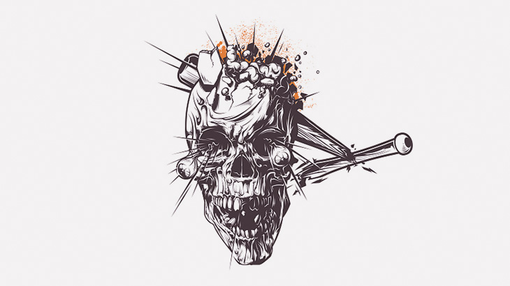 【閲覧注意】頭を潰されて死んだ男(動画)