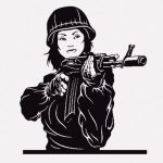 【閲覧注意】殺害された女性兵士さん、死体で遊ばれてしまう・・・(画像)
