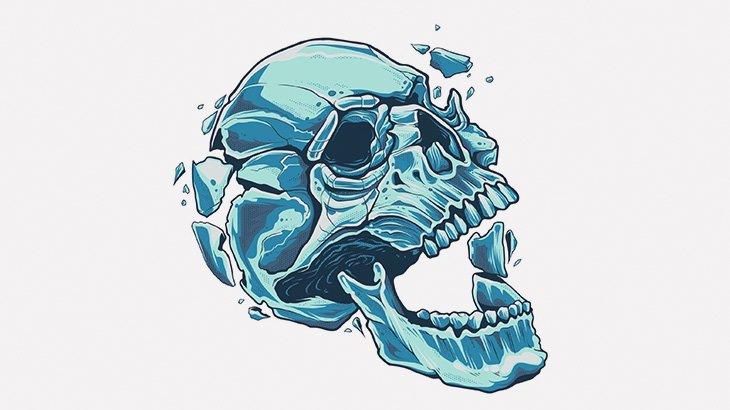 マチェーテで頭を完全に破壊された男の死体(画像)