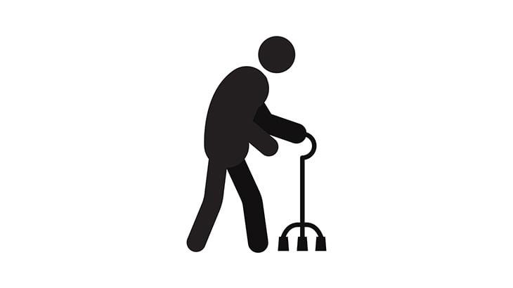 歩くこともままならない障害者の男性、履いていた靴を盗まれてしまう(動画)