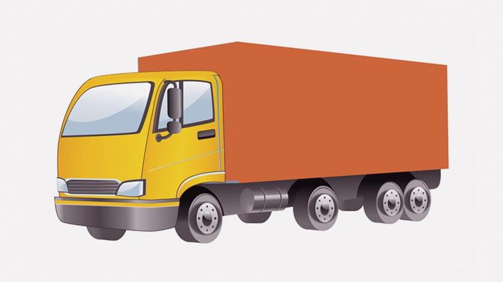 輸送トラックの荷台をぶち壊して中身を強奪する住民たち(動画)