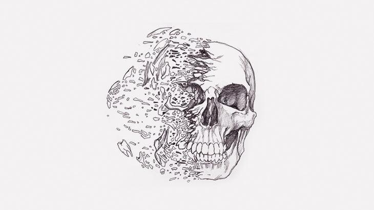 【閲覧注意】割れた頭から脳が飛び散った男の死体(動画)