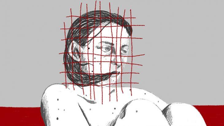 【閲覧注意】太ももを切り裂いた女性、骨まで丸見え・・・(動画)