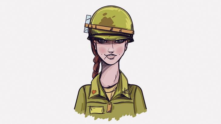 【閲覧注意】この女性兵士たち、全員死んでしまう・・・(画像)