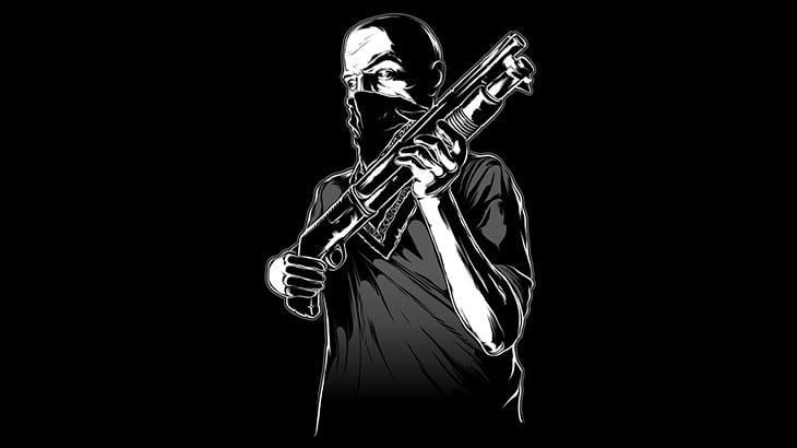 【閲覧注意】銃で撃たれまくって身体がブヨンブヨンする男(動画)